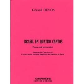 Brasil En Quatro Cantos - Multi-Percussions et Piano