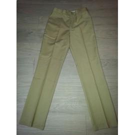 Pantalon De Costume Beige T.38
