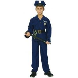 D�guisement Policier Luxe Gar�on, Taille 4 � 6 Ans