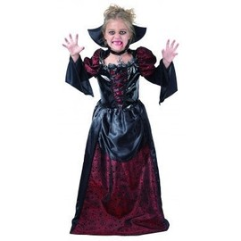 D�guisement Vampire Fille Halloween, Taille 10 - 12 Ans (L)