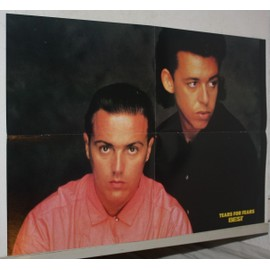 poster affiche magazine revue best tears for fears 57x39cm