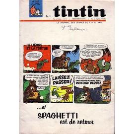 Tintin Le Journal Des Jeunes De 7 A 77 Ans N� 917 : Et Spaghetti Est De Retour
