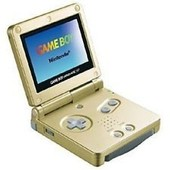 Game Boy Advance Sp Gold