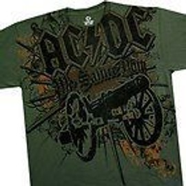T-Shirt AC/DC - Shoot To Thrill - Homme - Large - Import Direct USA
