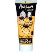 Alternative � L'aquacolor En Pot, Le Tube Aquacolor De 35 Ml Permet Le Maquillage D'une Vingtaine De Visages. Facile D'utilisation, Il S'applique Directement Sur La Peau Et Se D�maquille � L'eau