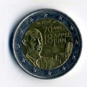 Piece 2 Euros 18 Juin 70 Ans Pas Cher Ou Doccasion Sur Rakuten