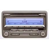 Rcd 310 - Autoradio D'origine Volkswagen 2009 - Radio Double Tuner - Lecteur Cd - Affichage Des Pistes - Fonction Mp3