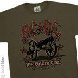 T-Shirt AC/DC - We Salute You - Homme - Small - Import Direct USA