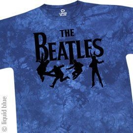 T-Shirt Beatles - Free Fall - Homme - Large - Import Direct USA