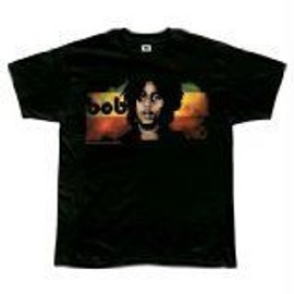 T-Shirt Bob Marley - Straight On - Homme - Large - Import Direct USA