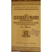 Les Classiques Favoris Du Piano Par Lack - H. Lemoine 6�me Volume P.1073