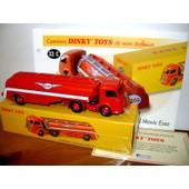 Tracteur Panhard Movic Citerne Esso Dinky Toys Atlas