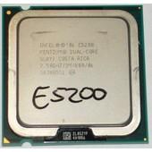 Processeur CPU Intel Pentium Dual Core E5200 SLAY7 2.5Ghz 2Mo/800 LGA775