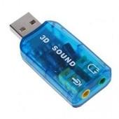 Cl� Usb Carte Son Externe 5.1 Audio Micro 3d
