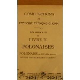 Compositions de Frédéric François CHOPIN - Polonaises en Sol dièze mineur - Oeuvre posthume (sans numéro)