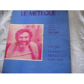 Partition Le Meteque Georges Moustaki 1969