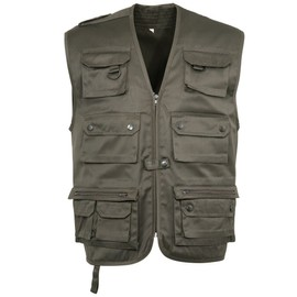 Gilet Sans Manches Multipoches Reporter Outdoor