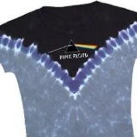 T-Shirt Pink Floyd - Dark Side - Femme - Large - Import Direct USA