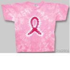 T-Shirt Pink Ribbon - Femme - Medium - Import Direct USA