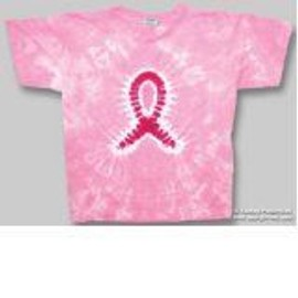 T-Shirt Pink Ribbon - Femme - Large - Import Direct USA