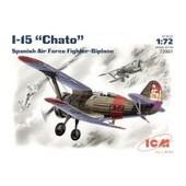 Maquette Avion : Polikarpov I-5 Chaito : Guerre D'espagne 1938