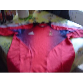 Maillot Adidas rouge equipe de france 98