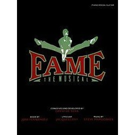 FAME - THE MUSICAL recueil piano voix guitare