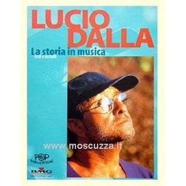 LUCIO DALLA - LA STORIA IN MUSICA Textes accords