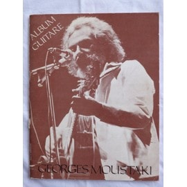 Georges Moustaki - album guitare