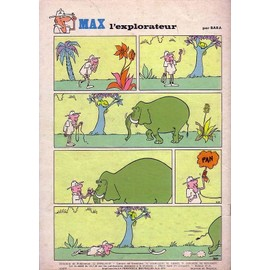 Journal Tintin De 1970 Reportage Exclusif Michel Vaillant Aus U-S-A N� 1130