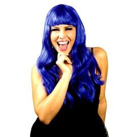 Perruque Chic Bleu Fluo