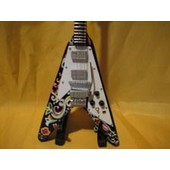 Guitare Miniature Jimi Hendrix * Flying �V�