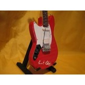 Guitare Miniature Nirvana * Kurt Cobain Lefty - Red