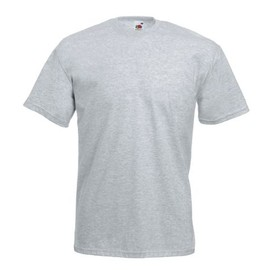 T-Shirt Couleur Gris Chin� - Tee Shirt Fruit Of The Loom