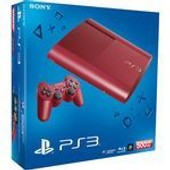 Sony Playstation 3 Ultra Slim 500 Go Rouge - Console Playstation 3 Ultra Slim 500 Go