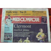 Midi Olympique N�5210 - Clermont Maillot Jaune