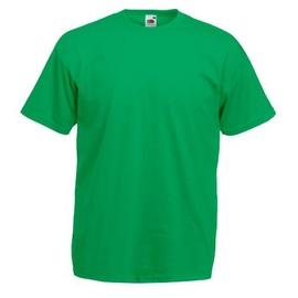 T-Shirt Couleur Vert / Kelly Green - Tee Shirt Fruit Of The Loom