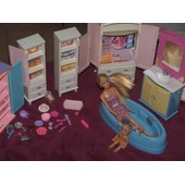 Maison Barbie Et Autres Acessoire