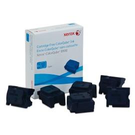 Xerox - Pack De 4 - Cyan - Original - Encres Solides - Pour Colorqube 8900, 8900_Sc, 8900x
