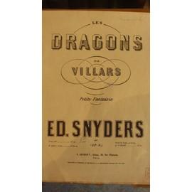 Les Dragons de Villars - Petite Fantaisie pour Piano- Edouard Snyders. Op.9