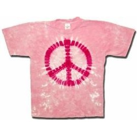 T-Shirt Pink Peace - Homme - Medium - Import Direct USA