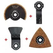 Set Accessoires Carrelage Pour Outil Multifonction Bosch