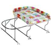 Combin� Baignoire Table � Langer Chrome Varix Hibou