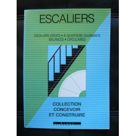 ESCALIERS Escaliers Droit-Circulaires-A Quartiers Tournants Balancés, occasion