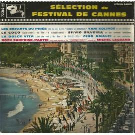 sélection du festival de cannes : les enfants du pirée 2'52 - le coco 2'18 / la dolce vita 2'08 - rock surprise-partie 2'36