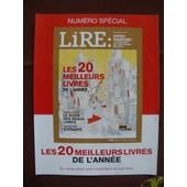 Publicit� Ancienne (D�cembre 2013) Pour Le Hors Serie De La Revue Lire : Un Entretien Avec Jared Diamond, Les 20 Meilleurs Livres De L'ann�e