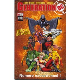 Generation Dc N� 02 : Teens Titans - Outsiders - Batgirl