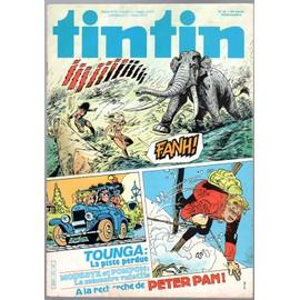 Tintin N� 410 Du 19/07/1983