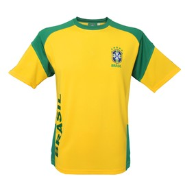 Maillot Du Br�sil - Collection Officielle Equipe Selecao Brasil - Football - Taille Adulte Homme
