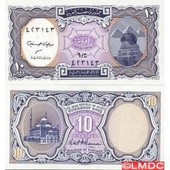 Billets Collection Egypte Pk N� 9999 - 10 Piastres
